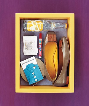 Wardrobe fix-it kit