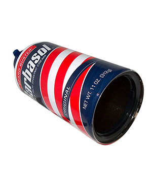 Barbasol shaving-cream can safe