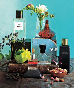 Spicy, flowery perfumes
