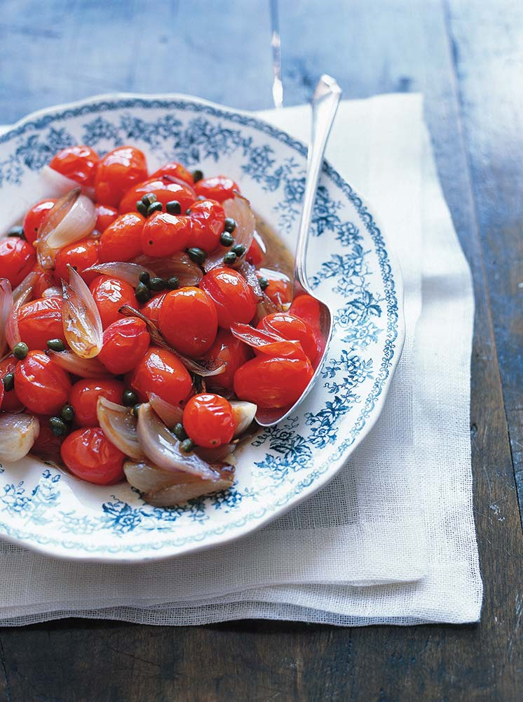 Sautéed Tomatoes and Shallots