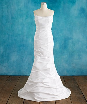 David's Bridal Collection gown