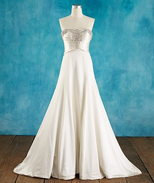 Wedding Dresses If You're Apple-Shaped