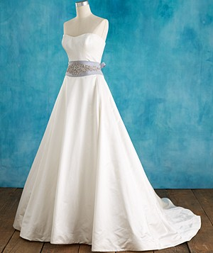 Wedding Dresses If You're Pear-Shaped