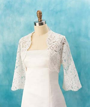 Kelima K. Bolero wedding dress