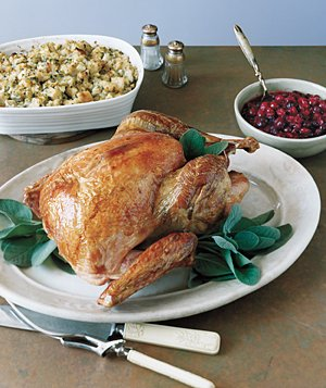 Roasted Turkey With Sage