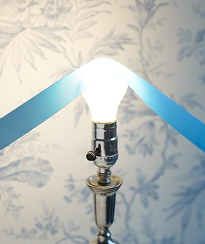 Lightbulb as Ribbon Smoother
