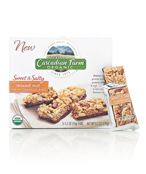 Cascadian Farm Organic Mixed Nut granola bar