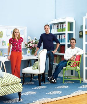 """Homey Office"" designed by Real Simple Home editors"
