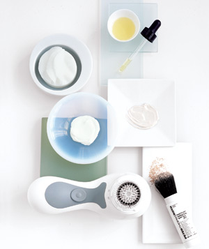 Creams, powders, and cleansers