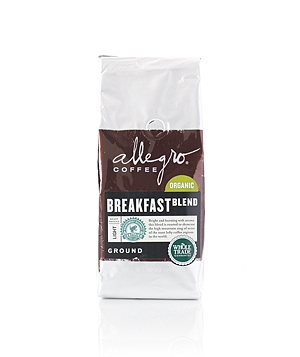 Allegro Coffee Organic Breakfast Blend coffee