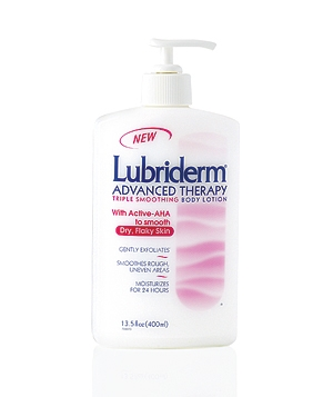 Lubriderm Advanced Therapy Triple Smoothing Body Lotion
