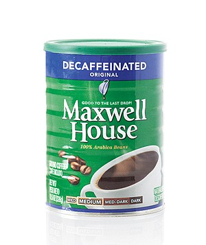 Maxwell House Decaffeinated Original coffee