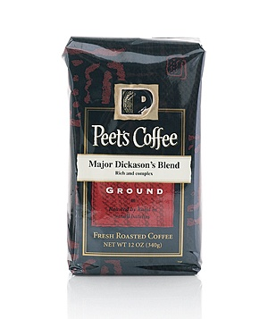 Peet's Coffee Major Dickason's Blend coffee