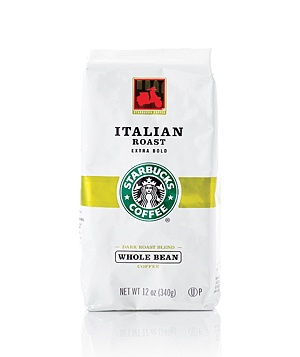 Starbucks Coffee Italian Roast coffee