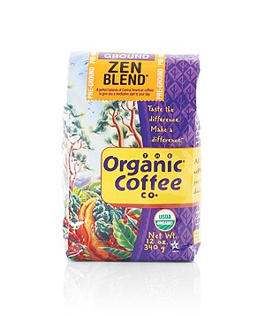 The Organic Coffee Company Zen Blend coffee