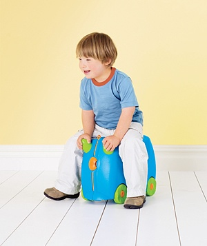 Ride-on Luggage, $40