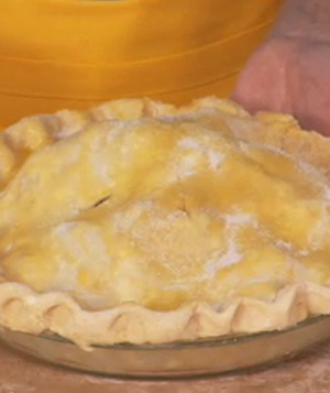 How To: Shape a Double Pie Crust