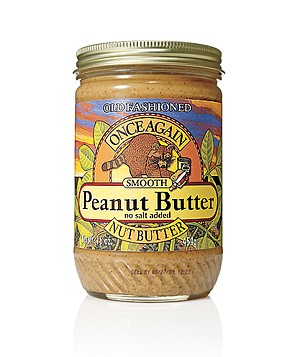 Once Again Nut Butter Old Fashioned Smooth Peanut Butter