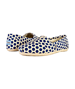 TOMS Blue Swing Canvas sneakers