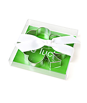 The Spoon Sisters Shamrock cookie cutter
