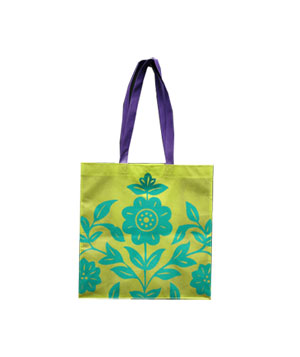 Turquoise Erin Special Recyclable Shopper