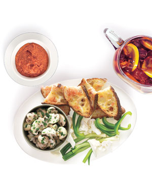 Host a Casual Tapas Party