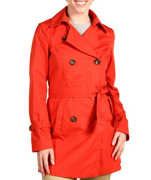 Cotton Double Breasted Trench by Esprit