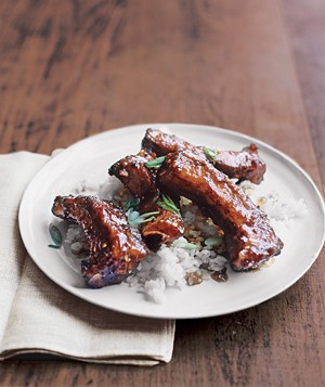 Gingery Glazed Asian Ribs