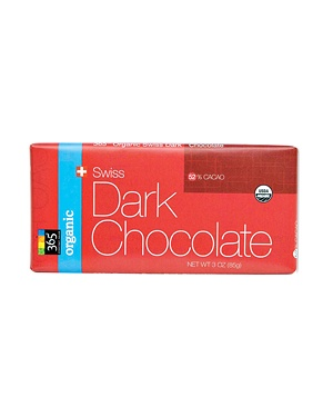 Whole Foods' 365 Organic Swiss Dark Chocolate