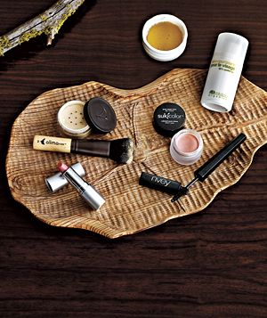 Planet-friendly face products