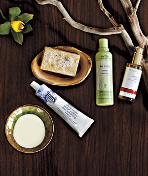Planet-friendly hair and body products