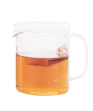Measuring cup of tea