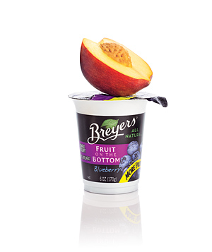 Breyers Fruit on the Bottom Blueberry Yogurt