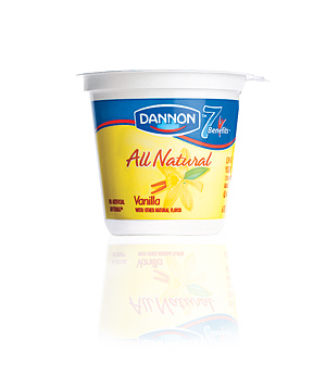 Dannon All Natural Vanilla Yogurt