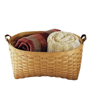 Longaberger Blanket basket