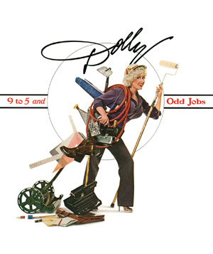 "Dolly Parton ""9 to 5 and Odd Jobs"" album"