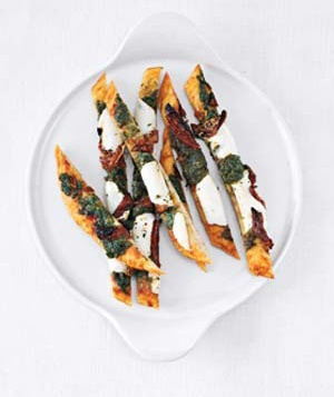 Swizzle-Stick Pizza Appetizers