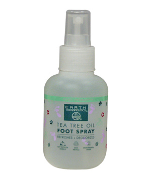 Earth Therapeutics Tea Tree Oil foot spray