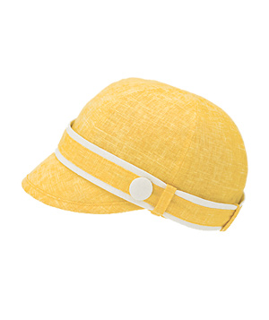 Fred Flare Lemonade Button Trim Cap
