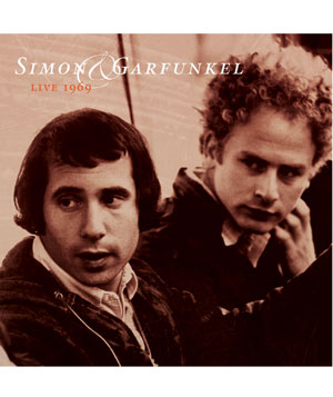 "Simon & Garfunkel, ""Live in 1969"" album"