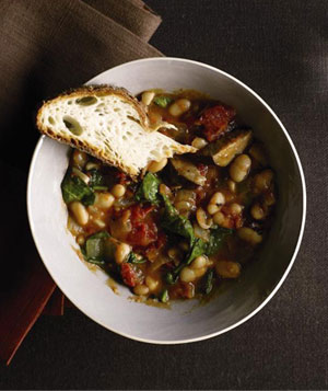 White Bean and Kielbasa Stew