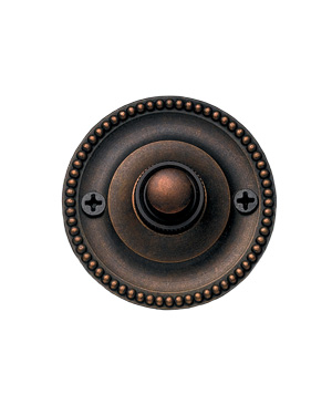 Round Beaded Doorbell by Restoration Hardware