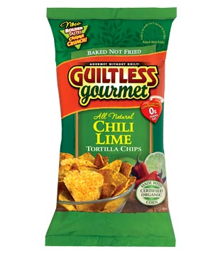 Guiltless Gourmet All Natural chili lime tortilla chips