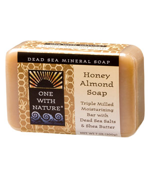 One with Nature Honey Almond bar soap