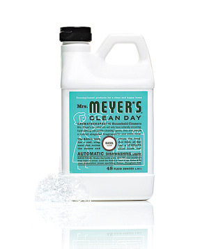 Mrs. Meyer's Automatic dishwashing liquid
