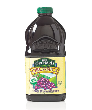 Old Orchard Organics 100% Concord grape juice