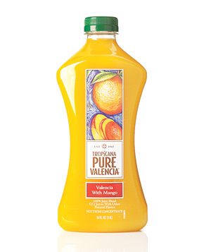 Tropicana Pure Valencia with Mango juice