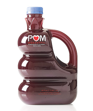 POM Wonderful pomegranate blueberry juice