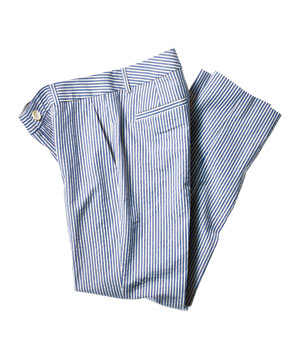 Banana Republic stretch-cotton striped pants