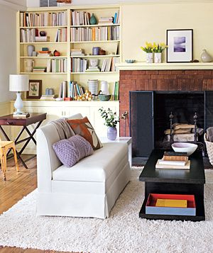 Surprise Storage for the Living Room | Real Simple
